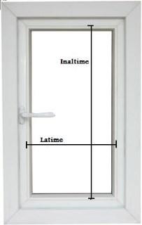 masurare geam termopan